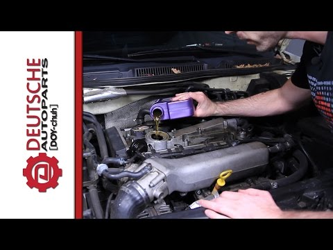 How to change the oil on a 1.8T MK4 Jetta 20 Valve Engine