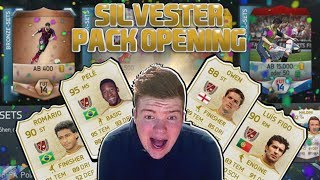 FIFA 14 : Next Gen Facecam Pack Opening #5 Silvester Pack Opening + 100k Pack