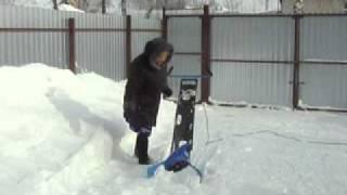 снегомет зубренок x264