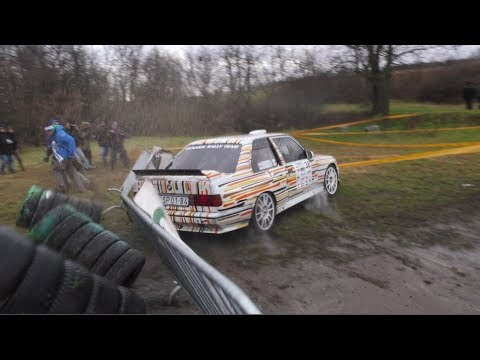[DAY 2] Szilveszter Rallye 2017   MISTAKES & BIG SHOW!!!