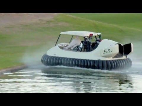 Latający wózek golfowy