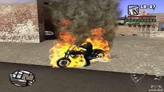 Video Gta San Andreas: How to Find the Ghost Rider Bike (NO MODS) MP3, 3GP, MP4, WEBM, AVI, FLV Juli 2018