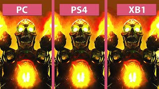 Nonton Doom     Pc  Max  Vs  Ps4 Vs  Xbox One Graphics Comparison Film Subtitle Indonesia Streaming Movie Download
