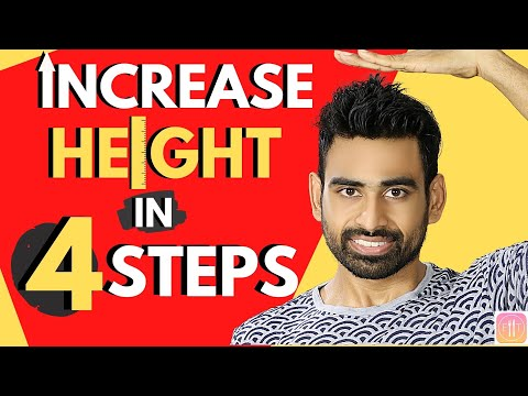 Increase Height in 4 Steps (100% Guaranteed Ayurvedic Routine)