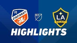 FC Cincinnati vs. LA Galaxy   HIGHLIGHTS - June 22, 2019 by Major League Soccer