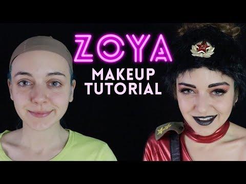 Zoya The Destroyer — Glow Makeup Tutorial For Cosplay