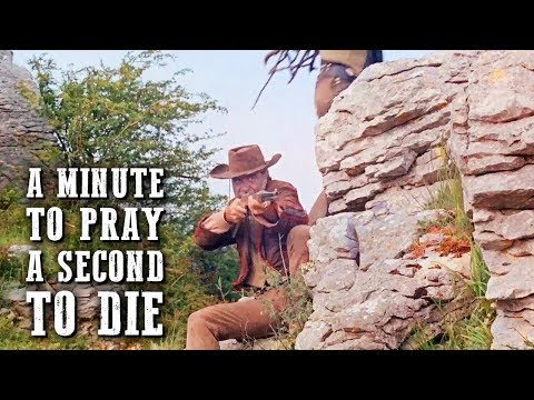A Minute to Pray, a Second to Die | FREE WESTERN MOVIE | Action Movie | Cowboys | Full Movies