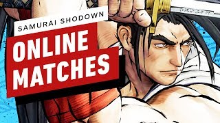 Samurai Shodown - 10 Minutes of Ranked Online Matches by IGN