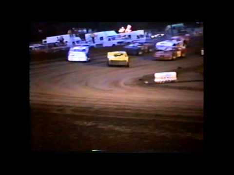 3rd Heat Race IMCA Late Model's Independence Motor Speedway 1980's?