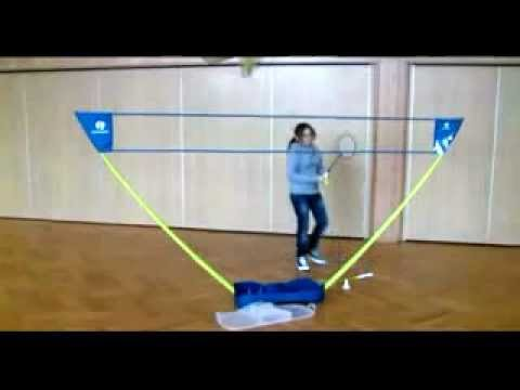 31057   Federball Set  /  Badminton Set
