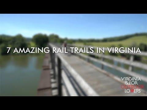 Rail Trails in Virginia
