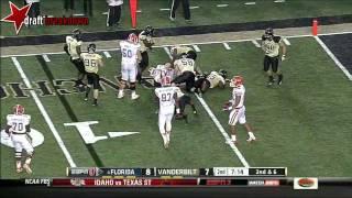Andre Hal vs South Carolina, Florida & NC State (2012)