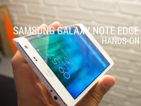 Samsung Galaxy Note Edge hands-on