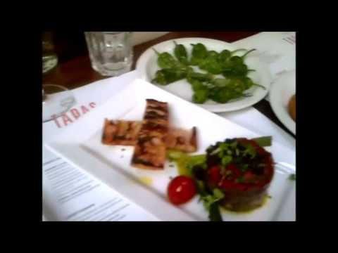 We visit Brindisa Spanish tapas bar restaurant in the heart of Londons Soho for dinner & drinks