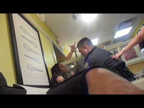 Women Fight With Police At IHOP As Boba Fett Looks On