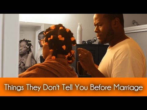 Things They Don't Tell You Before You Get Married