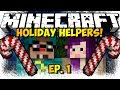 """SANTA'S ORDERS!"" Minecraft Holiday Helpers Ep. 1 (HD)"