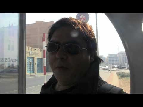 Parada de ônibus com ar condicionado em Dubai
