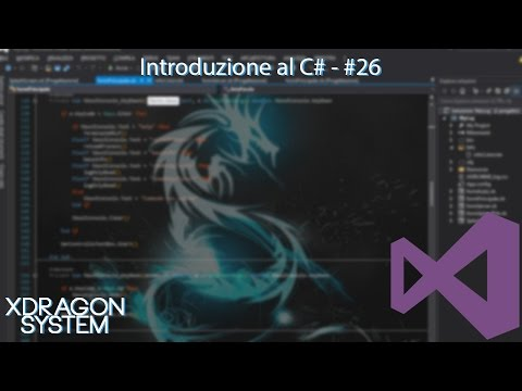 Visual Studio Tutorial - Introduzione Al C# - #26 - [C#] [ITA]
