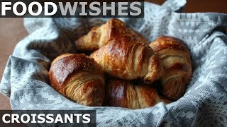 Croissants - Food Wishes - Crispy Butter Croissants by Food Wishes