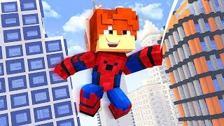 SPIDERMAN Saves The Daycare !? - Daycare (Minecraft Roleplay)