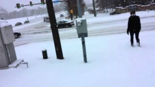 Reston (VA) United States  City new picture : Route 606, Reston, VA, USA. Snow February 2015