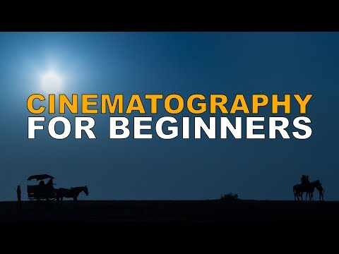 Cinematography Tutorial for Beginners. Make Great Videos from Day One!