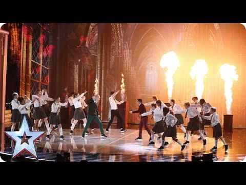 Dance troupe Entity Allstars are magic! | Semi-Final 1 | Britain's Got Talent 2015