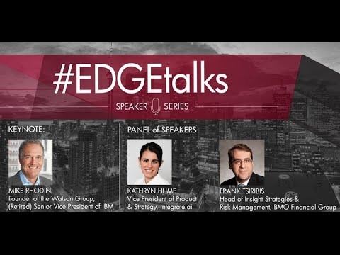 #EDGETalks - Artificial Intelligence in Operations: Where can AI fit in my organization?