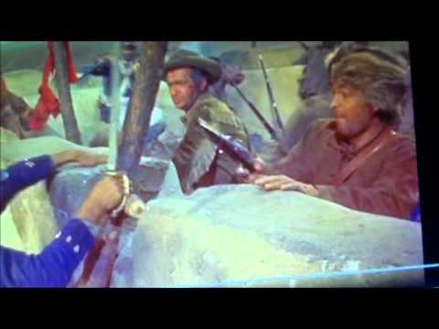 Davy Crockett Big Battle Sceen 1955