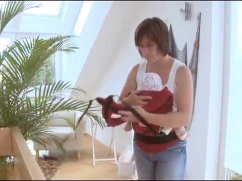 Vorschau: Tragehilfe ab Geburt mit Rückenverlängerung