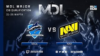 Vega vs Navi, MDL CIS, game 3 [GodHunt, Lum1Sit]