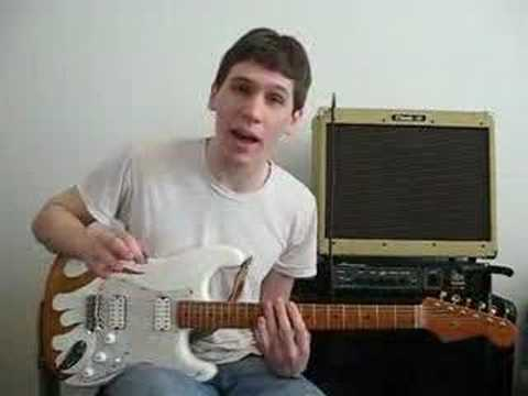 Guitar Modes and Scales Lesson – One Pattern To Rule Them Al