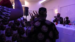 Masquerade dance at the 2019 Igbo union Canada