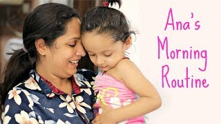 Ana's Morning Routine - Mom vs Blogger | #Vlog #Travel #ShrutiArjunAnand