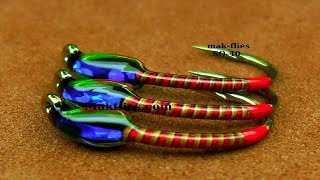 Fly Tying a Simple Spring Quill Trout Buzzer by Mak
