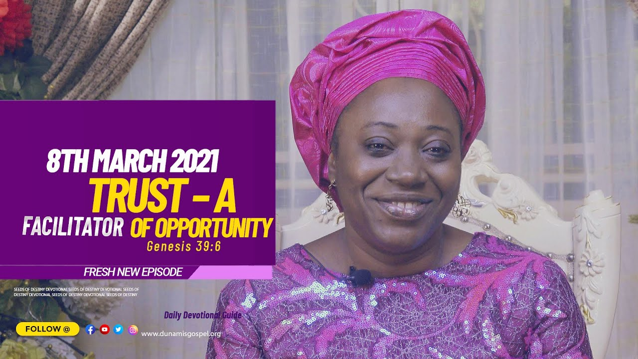 SEEDS OF DESTINY SUMMARY MONDAY 8TH MARCH 2021 by Dr Becky Paul-Enenche
