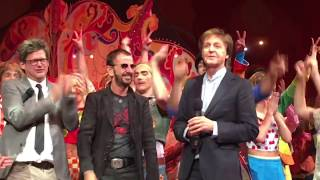 "Video The Beatles Paul and Ringo Surprise everyone at Cirque 10th anniversary 'Love"" show 2016  Awesome! MP3, 3GP, MP4, WEBM, AVI, FLV Agustus 2018"