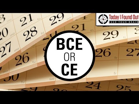 What's the Difference Between BCE/CE and BC/AD and Who Came Up with These Systems? (видео)