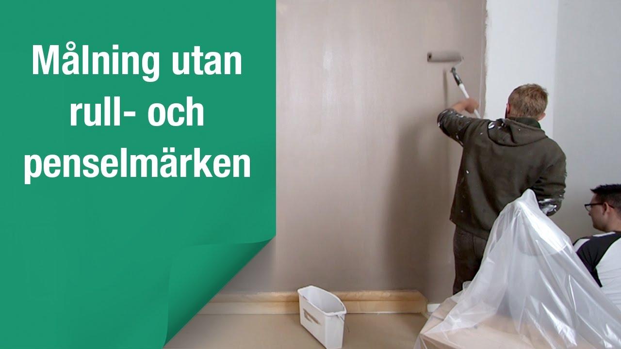 Så målar du väggar och tak ec525ec0cc316