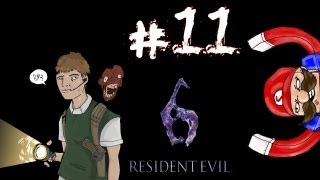Residential Evil - Resident Evil 6 Ada Campaign Walkthrough / Gameplay w/ SSoHPKC Part 11 - Not Yet