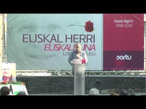 Inazio Agirreri omenaldia Tolosan: Euskal Herri euskalduna lortuko dugu!