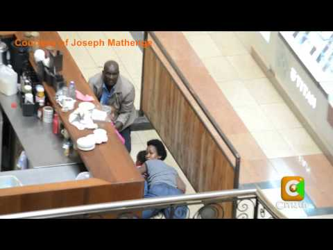 exclusive - Exclusive Footage of The Rescue Of Mother & Her Children #WestgateMall.