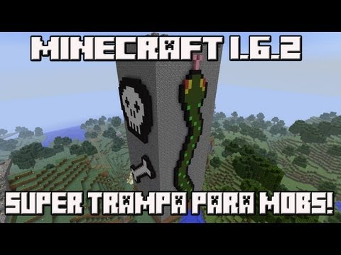 Minecraft 1.6.2 LA SUPER TRAMPA PARA MOBS!