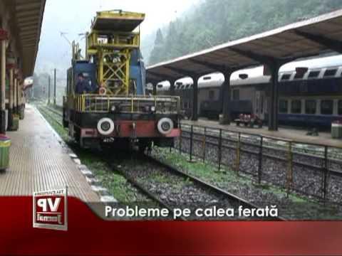 Probleme pe calea ferată