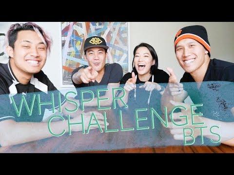 Whisper Challenge BTS