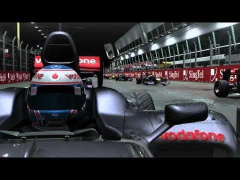 Formula 1 Tokyo Game Show 2010 Singapore Night Race Trailer 720p HD
