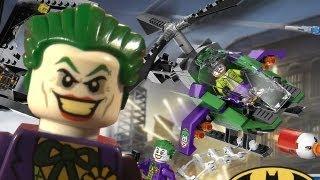 Lego Joker Helicopter Timelapse