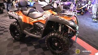 1. 2017 CfMoto CForce 800 EPS - Walkaround - 2016 Toronto ATV Show