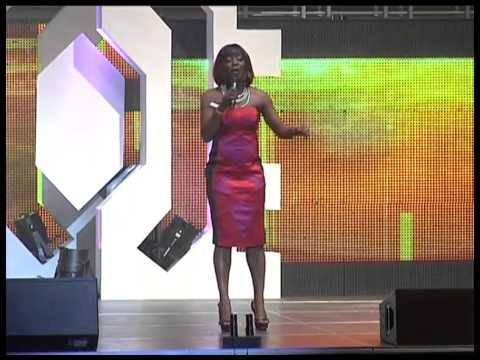 Ay Live Concert - Helen Paul Cracks Ribs At The Lagos Invasion 2011
